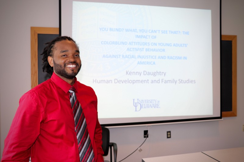 Doctoral student Kendell Daughtry